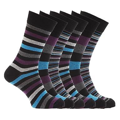 Socken bunt gestreift