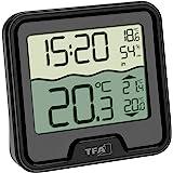 TFA Dostmann radiografische zwembad thermometer MARBELLA, 30.3066.01, weergave van de watertemperatuur, binnentemperatuur en