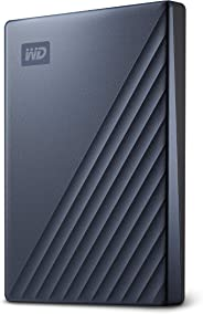 WD 2TB My Passport Ultra Blue Portable External Hard Drive, USB-C - WDBC3C0020BBL-WESN