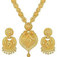 Asmitta Jewellery Set for Women (Golden) (NS725KJGLDSB0)