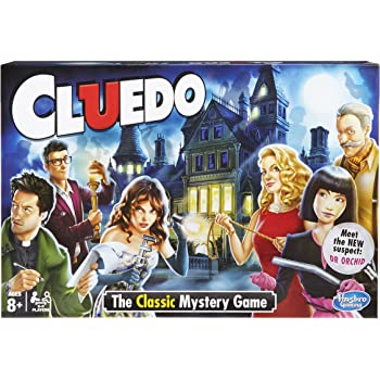 Hasbro Cluedo 387123480, il classico gioco da tavolo del mistero