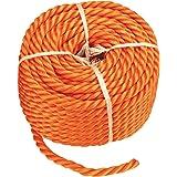 CON:P multifunctioneel touw polypropyleen, 6 mm, 20 m, oranje, B34082 Stärke 8 mm