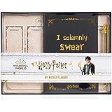 Harry Potter Agenda y Planificador Semanal Sin Fecha, Set de Papelería con Diario Escolar, Planner y Bolígrafo Hedwig, Kit Ma