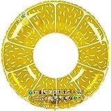 """Ultrakidz Riesen-Schwimmring """"Frucht"""", Schwimmkissen, XXL Float Spielzeug in lustiger Zitronen-Form, Durchmesser ca. 107 cm,"""