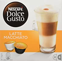 NESCAFÉ Dolce Gusto Latte Machiato Coffee, Pack of 3 (Total 48 Capsules, 24 Servings)