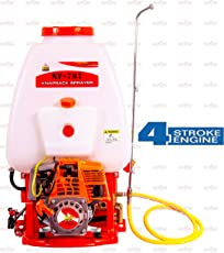 NEPTUNE SIMPLIFY FARMING Power Sprayer with 4 Stroke Petrol Engine and Output 6-8 Lit/Min, 20L (White, Neptune23-NF-767)
