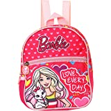 Barbie Polyester 21 cms Pink School Backpack (MBE-MAT536)