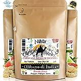 Nabür - Incensio Collection Olibano Grani   Boswellia - Grado A   Alto Contenuto di H.Essential Benessere cognitivo, Salute d