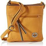 Rieker Damen H1023 Handtasche, Blau Kombi, 232x10x248
