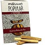 Legnetti Palo Santo varietà Popular Suyo - Raccolti in Modo Etico e Sostenibile - Bastoncini d'Incenso Naturale per purificaz