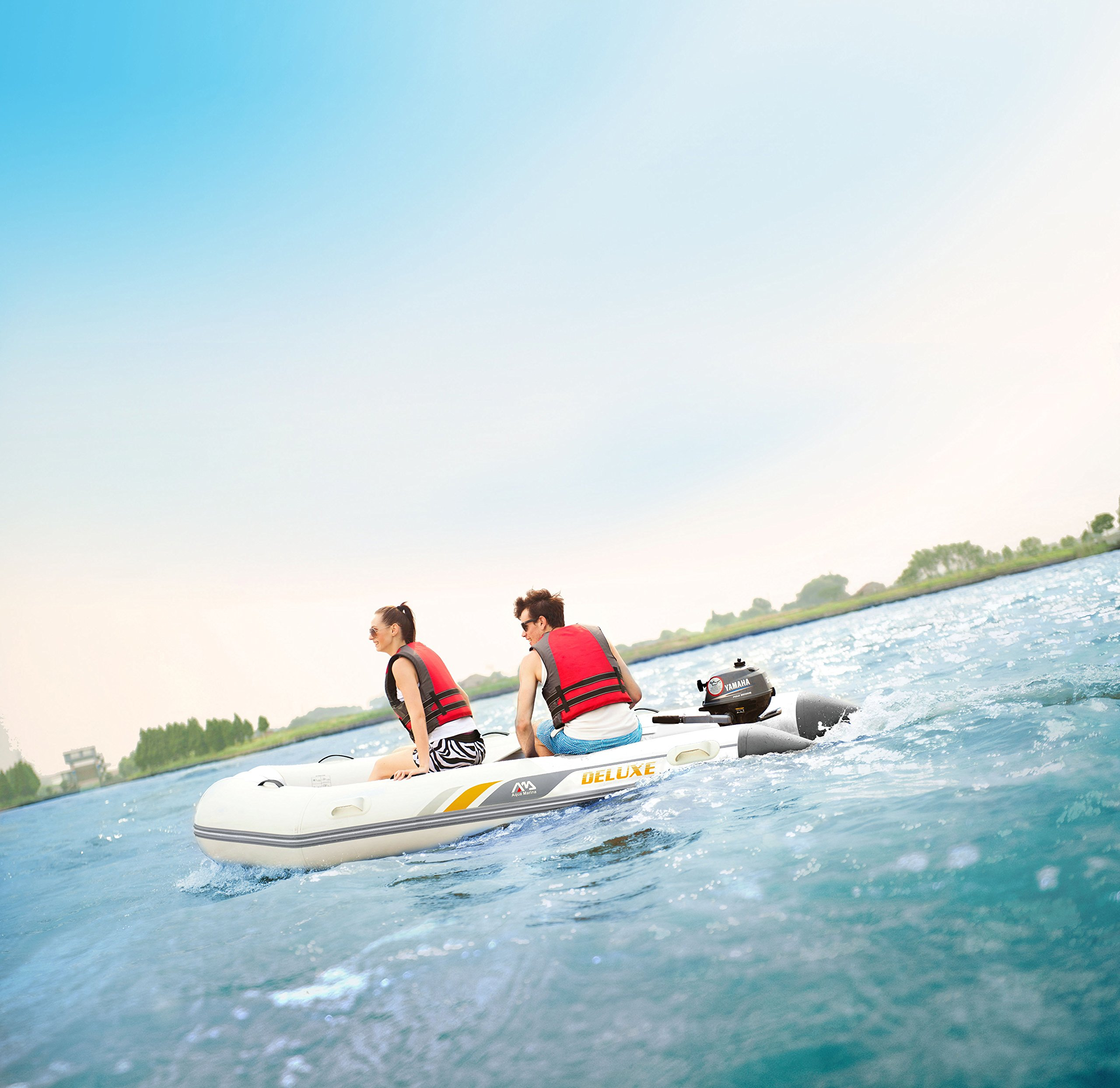 Aqua Marina bt-888302.50m Deluxe Inflatable Speed Boat