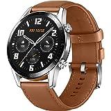 Huawei Watch GT 2 55024321 Smartwatch, 46 mm, Srebrny/Brązowy