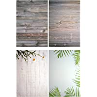 Store2508® (Pack of 2) Flat Lay Flatlay Tabletop Photography Backdrop Background for Food, Jewelry, Cosmetics, Small Product, Photo Pros and More, 56 * 88 cm, (Set J) Multicolour