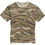 100% Cotton Military Style T-Shirt - MTP