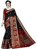 Regolith Designer Sarees Women's Banarasi Cotton Silk Saree With Blouse Piece