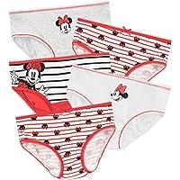 Disney Minnie Mouse Mutandine per Bambina [Confezione da 5]