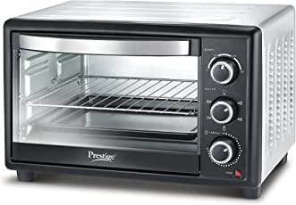 Prestige 46 L Glass OTG with Rotisserie and Convection(Black)