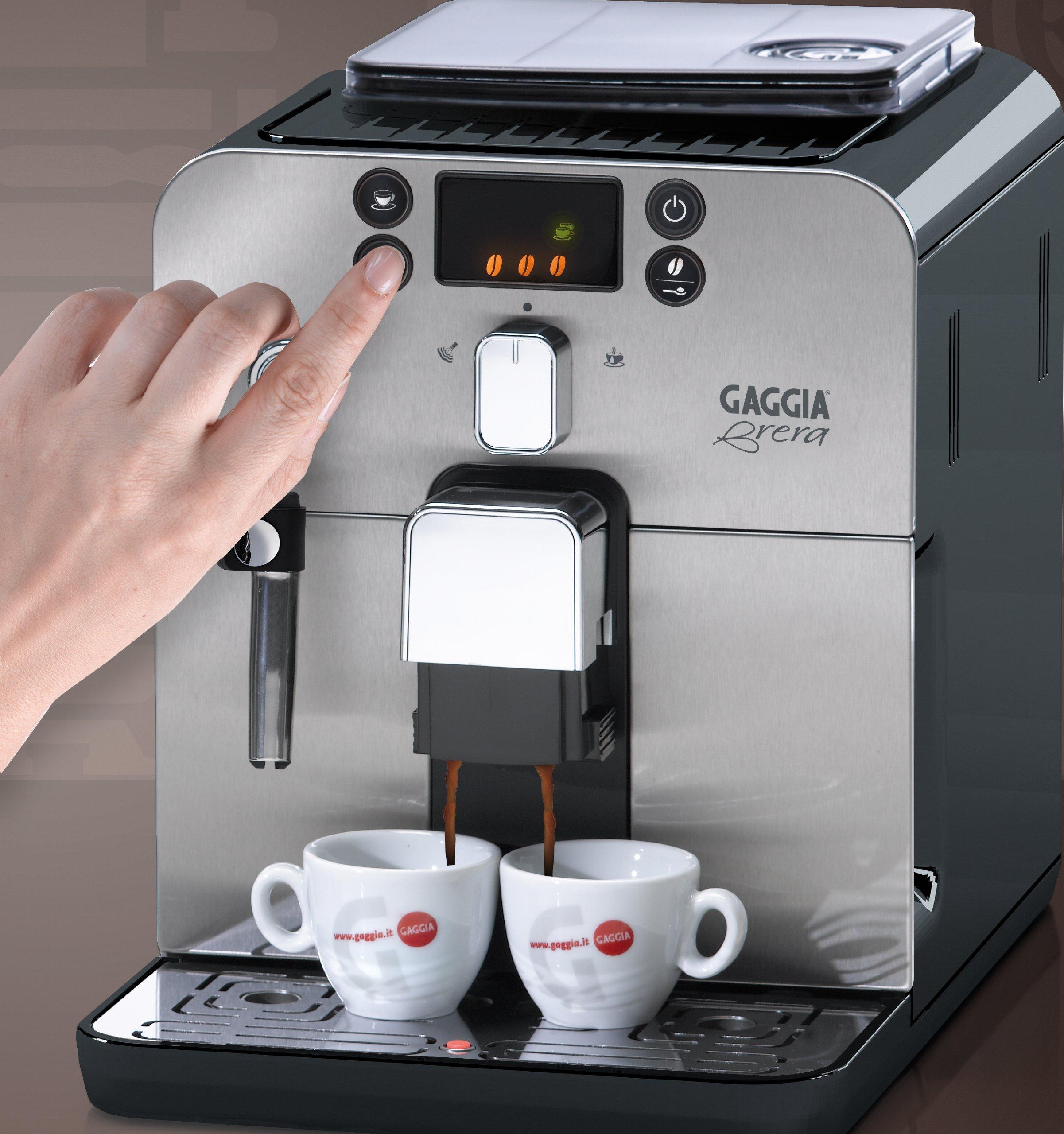 Gaggia-Brera-Fully-Automatic-Bean-to-Cup-Espresso-Coffee-Machine