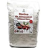 Farina di Mandorle 1 Kg - Ideale per Dolci e Keto - Senza Glutine - 100% Origine Mediterranea - Non Transgenica - Pelata y Fi