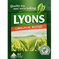 Lyons Original Irish Tea. 80 Bags