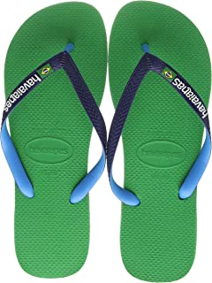 Herren Havaianas Brasilien Mix Marineblau Türkis Sandalen
