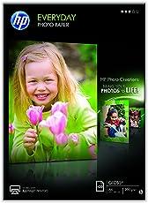 HP Q2510A Everyday Glossy Standard Fotopapier 200g/m² A4 100 Blatt, weiß