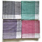 Ashley Kitchen Napkin/Cleaning Cloth/Table Wipe Pack of 12 with (Multicolour, Standard Size) 16 * 16inch(Medium)