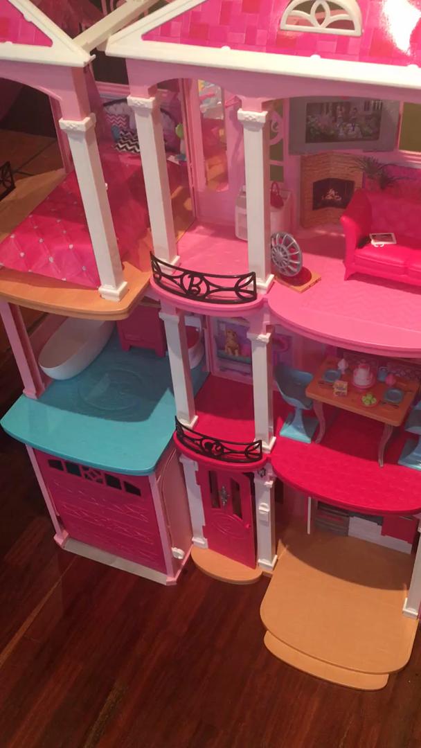 Amazon.es:Opiniones de clientes: Barbie Dreamhouse, casa de muñecas (Mattel FFY84)