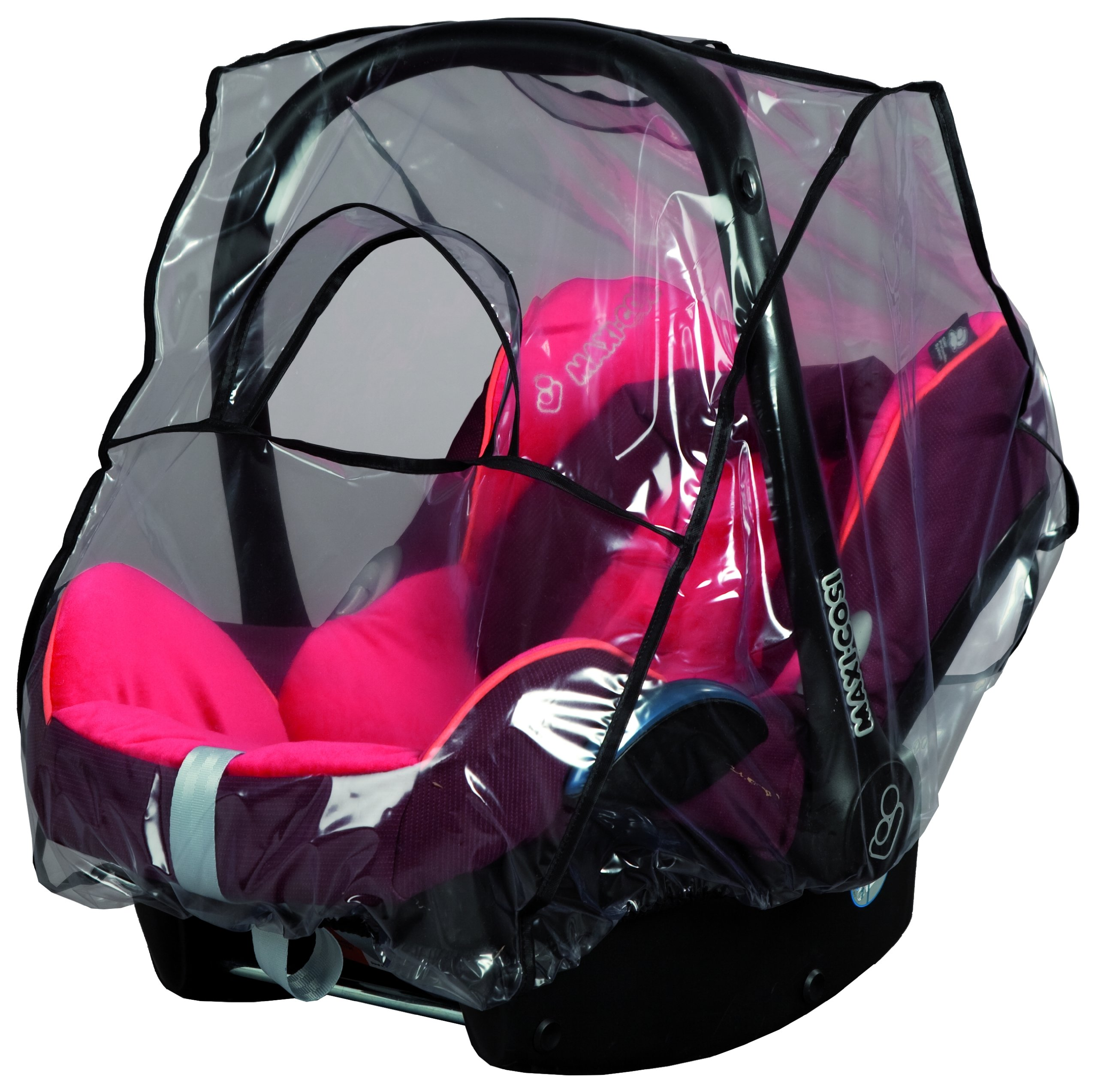 Sunnybaby Rain Cover for Baby Car Seat Group 0/0+ sunnybaby suitable for most of baby car seats group 0/0+ with window for fast and easy access to your child with rubber band for the quick installation 1