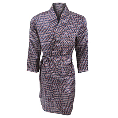 Universal Textiles Mens Lightweight Traditional Patterned Satin ...