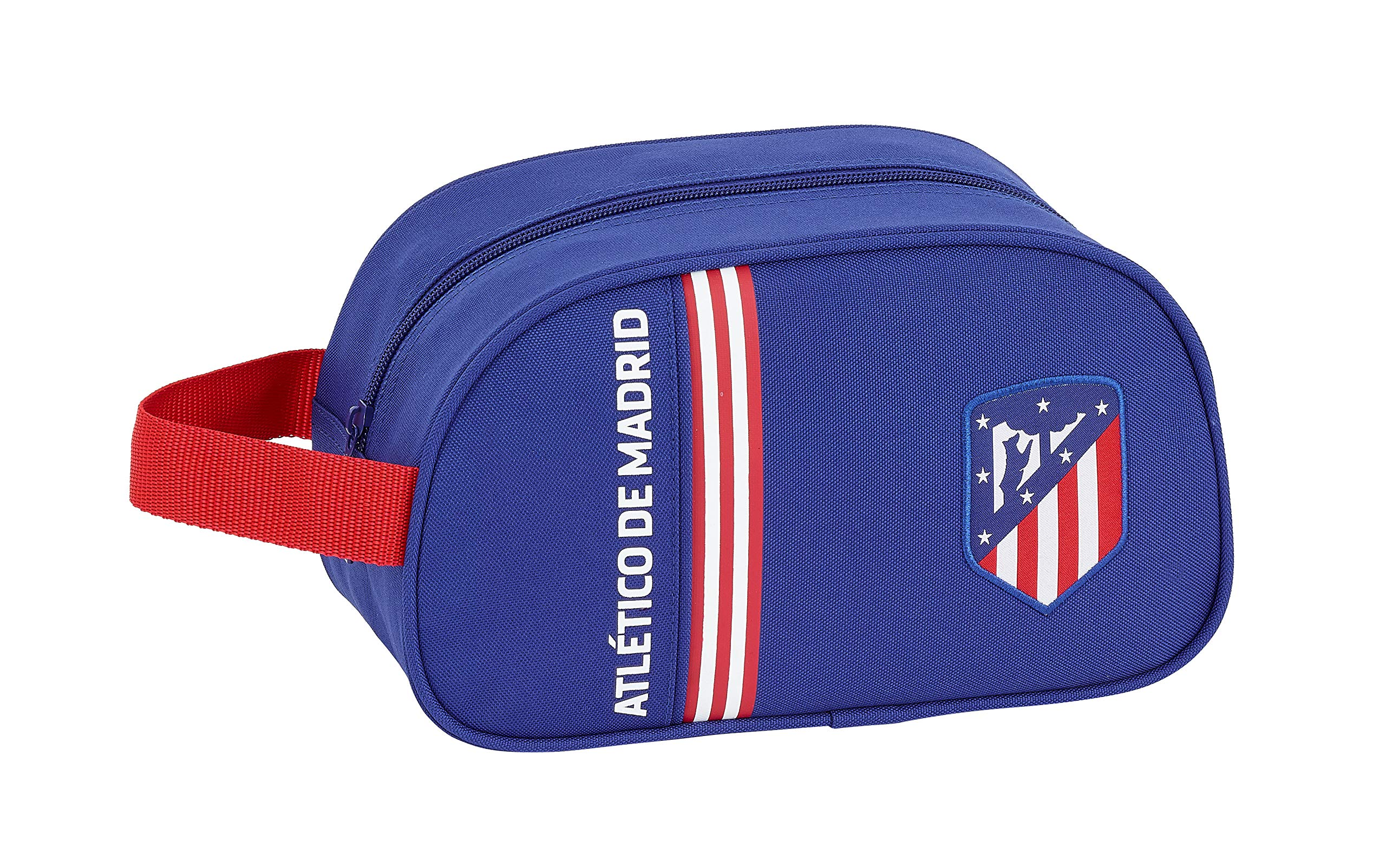 Atlético de Madrid «In Blue» Oficial Mochila Escolar Infantil Mediano con Asa 260x120x150mm