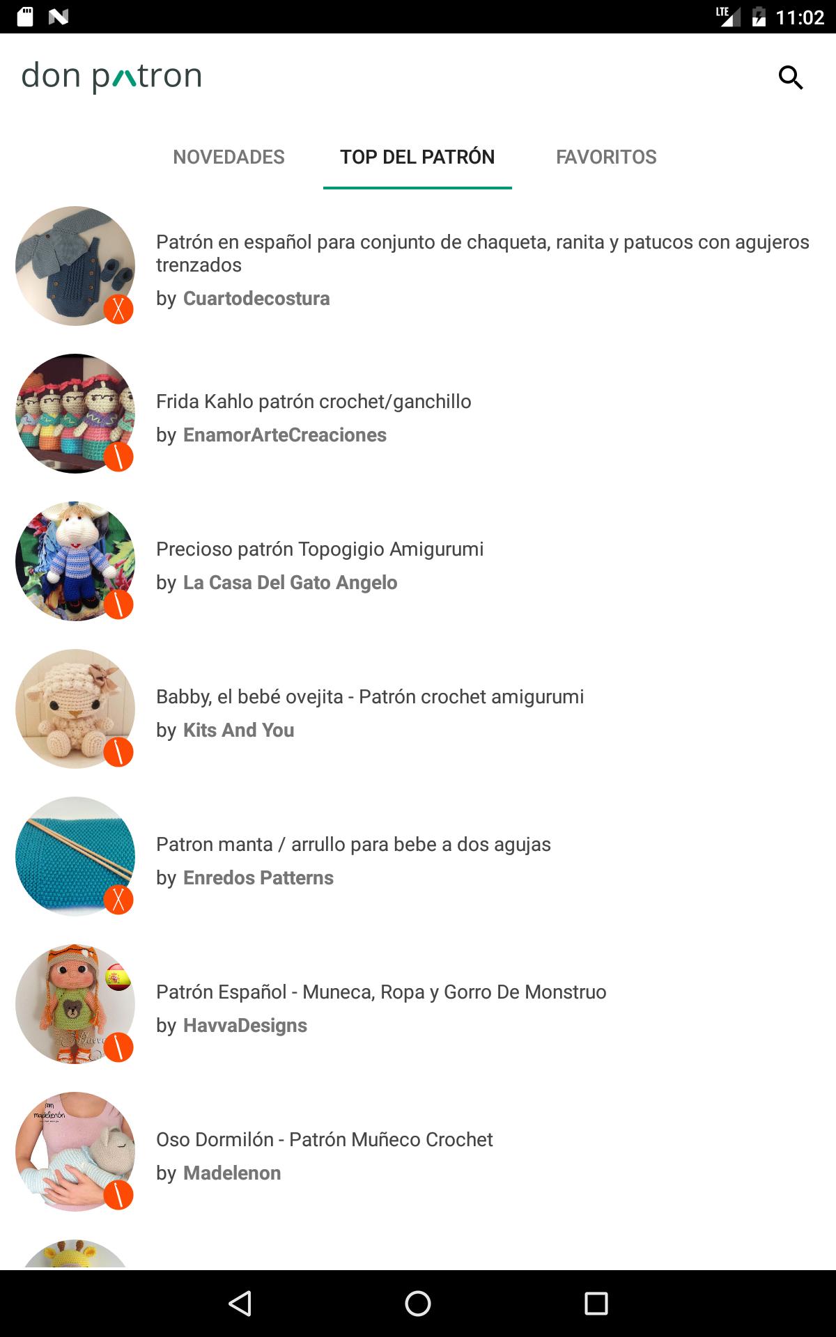 donpatron - Patrones punto: Amazon.de: Apps für Android