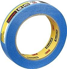 Scotch Super Malerabdeckband, 24 mm x 50 m, Profi-Plus Qualität, blau, PT209024