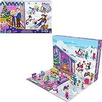 Polly Pocket GYW07 - Adventskalender mit 25 Tagen voller Überraschungen zum Entdecken (insgesamt 34 Spielteile), ab 4…