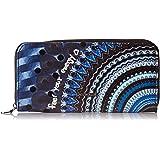 Desigual Wallet Rep Blue Friend_Zip Around, Portafogli Donna