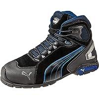PUMA Rio Black Mid, Chaussures de sécurité Rio Mid S3 SRC Taille 39 Noir Men