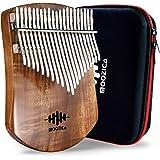 MOOZICA 21 touches koa massif Kalimba, planche en bois massif simple Kalimba Thumb Piano Marimba professionnel avec instructi