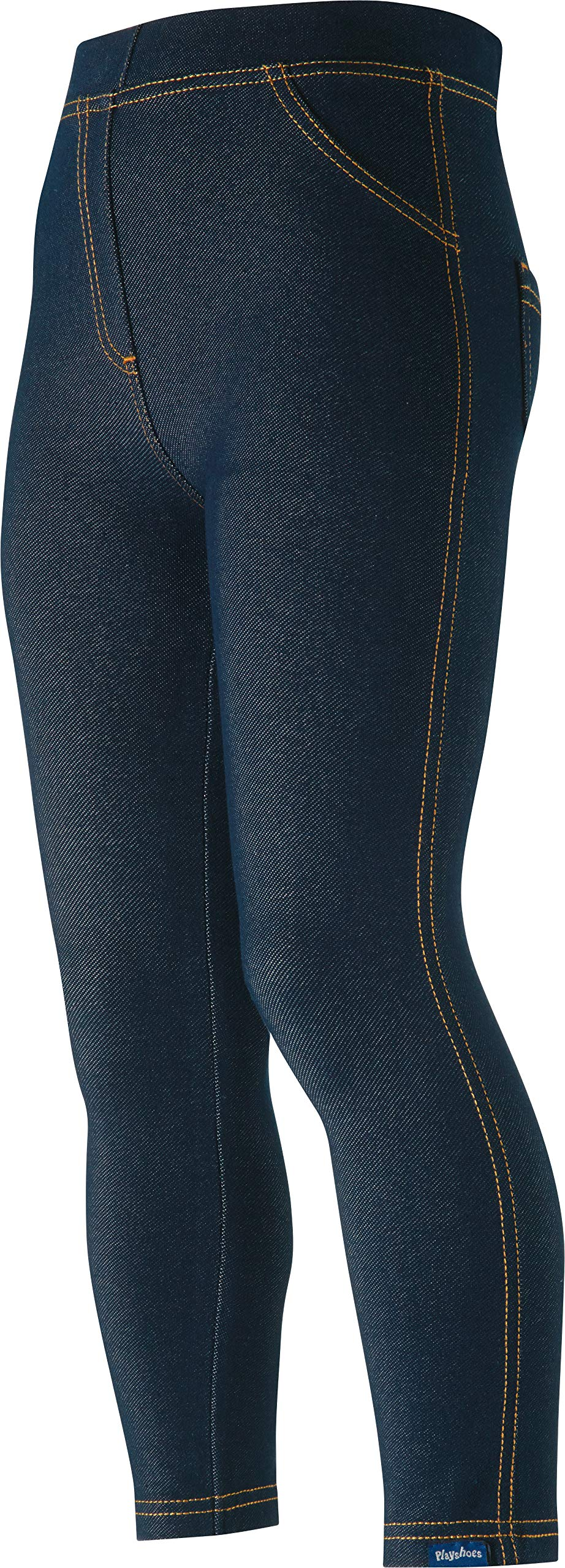 Playshoes Leggings Lang Jeans-Optik Unisex bebé 1