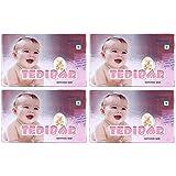 CURATIO Tedibar Baby Bathing Bar -75 gm Each - Pack of 4