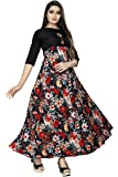 New Ethnic 4 You Women Long Fit & Flare Sttiched Gown(Multi-color)_GW13