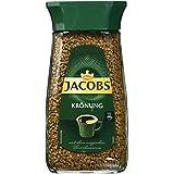 Jacobs Krönung Instant-/ Löskaffee Glas, 2er Pack (2 x 200 g)
