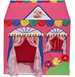 Homecute Hut Type Kids Toys Jumbo Size Play Tent House for Boys and Girls (Pink)