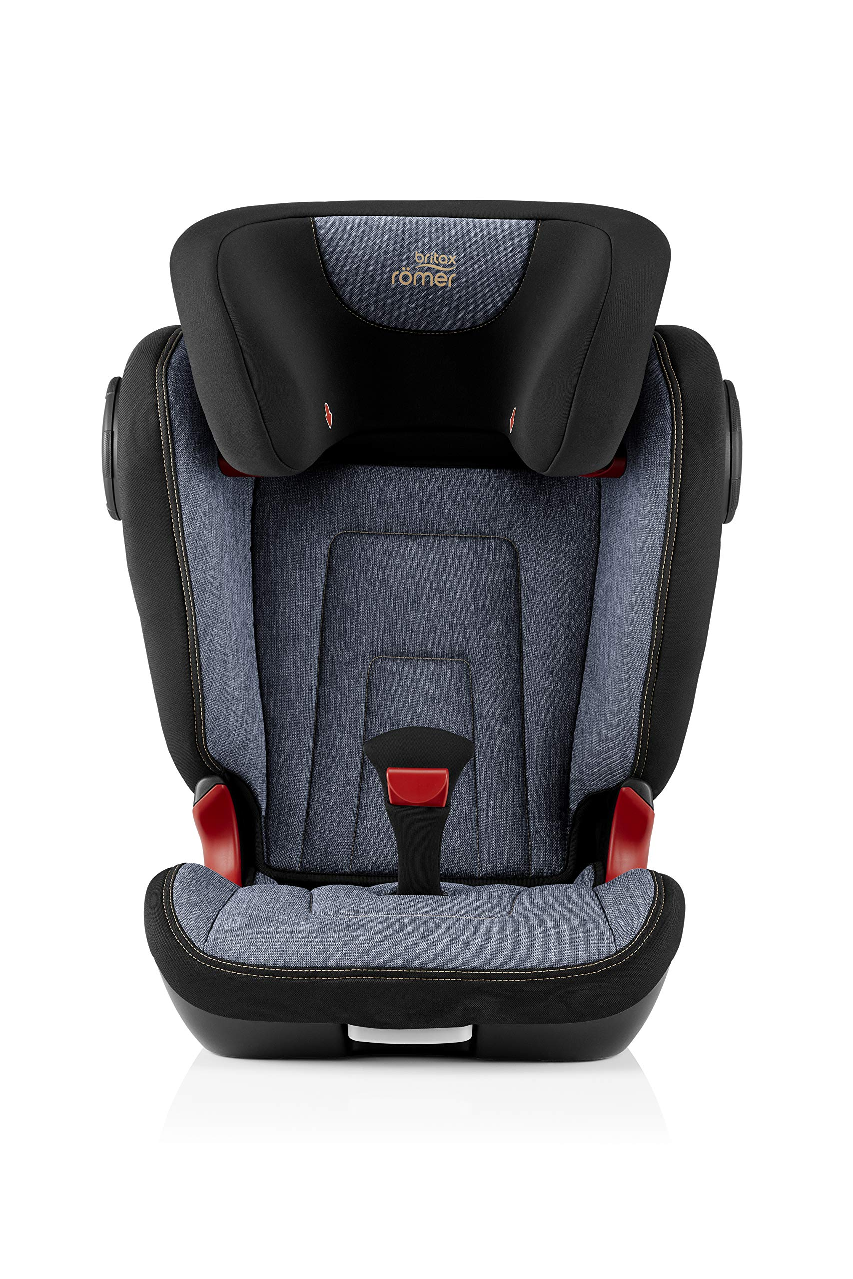 Britax Römer KIDFIX² S Group 2-3 (15-36kg) Car Seat - Blue Marble Britax Römer Advanced side impact protection - sict offers superior protection to your child in the event of a side collision. reducing impact forces by minimising the distance between the car and the car seat. Secure guard - helps to protect your child's delicate abdominal area by adding an extra - a 4th - contact point to the 3-point seat belt. High back booster - protects your child in 3 ways: provides head to hip protection; belt guides provide correct positioning of the seat belt and the padded headrest provides safety and comfort. 2