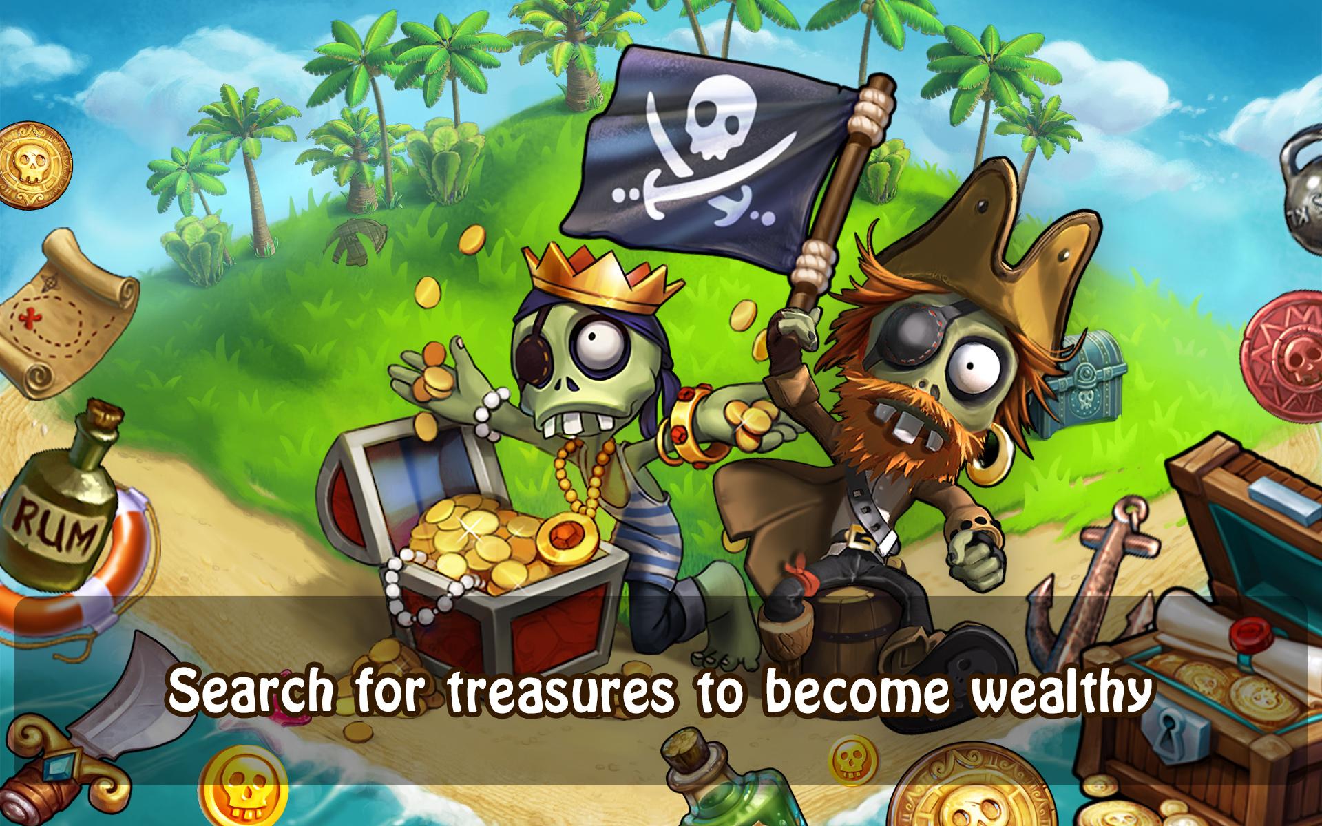Секретный остров в зомби ферме, чаво: Троянский и Лилипутский острова в мобильной ЗФ 17 фотография