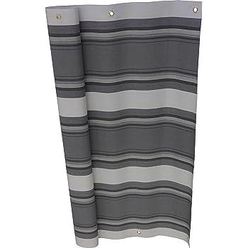 angerer balkonbespannung pe gewebe nr 3800 grau 75 cm hoch l nge 6 meter. Black Bedroom Furniture Sets. Home Design Ideas