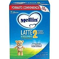 Mellin 2 Latte in Polvere di Proseguimento - 3 Confezioni di 1200gr [Totale = 3600gr]