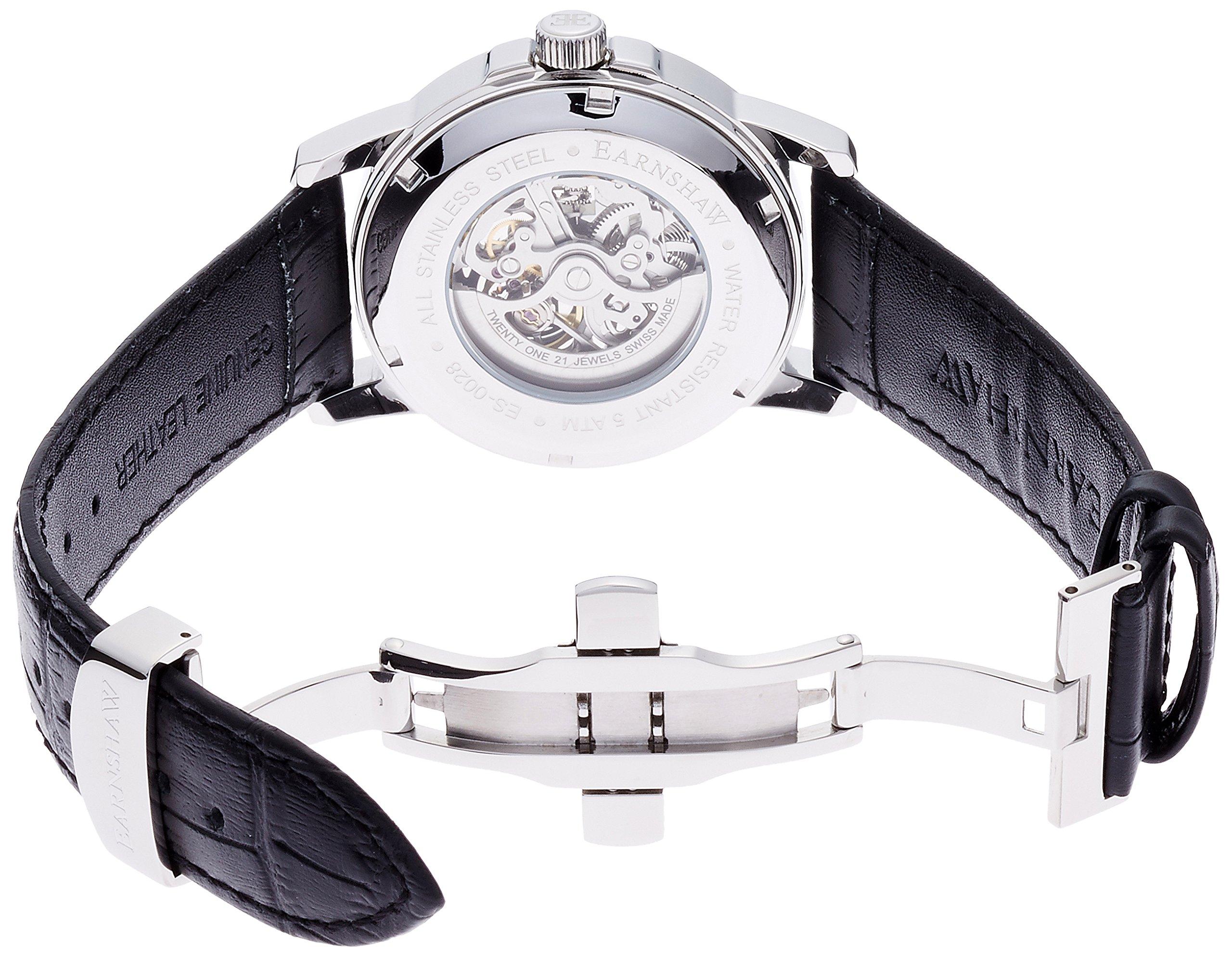 Thomas-Earnshaw-Unisex-Armbanduhr-Analog-Automatik-ES-0028-01-Metallic