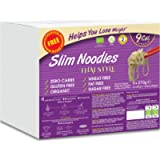 Eat Water Slim Pasta Thai Style Noodles Zero Carbohydrate Enviro 5 Pack * 270 Grams   Made from Gluten Free Organic…