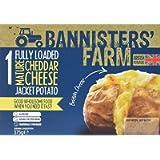 Bannisters Cheddar Jacket Potato, 375g (Frozen)