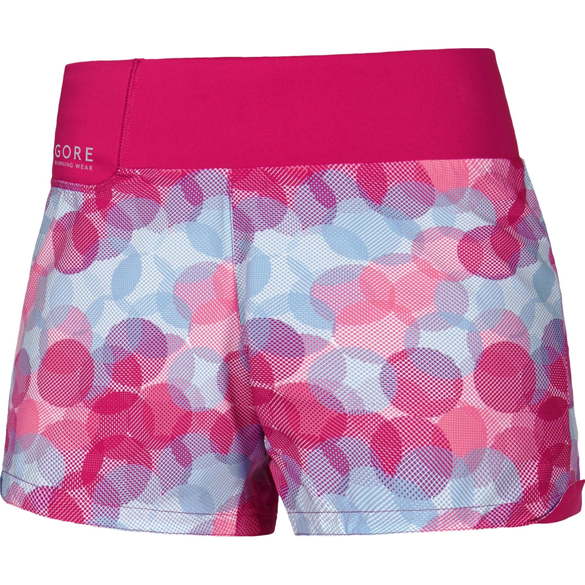 Gore Running Wear Damen Kurze Laufshorts, Sunlight Print Shorts, TSUNLP